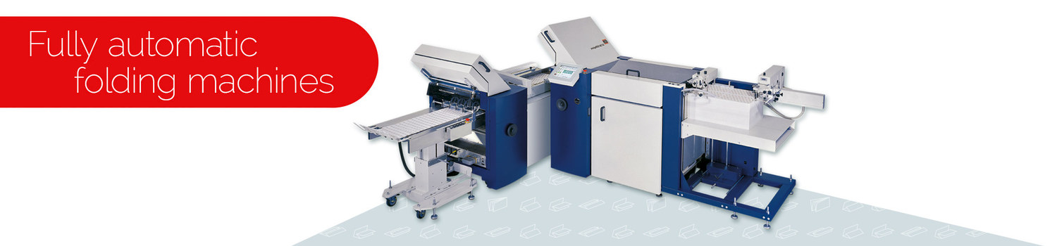 Fully automatic folding machine